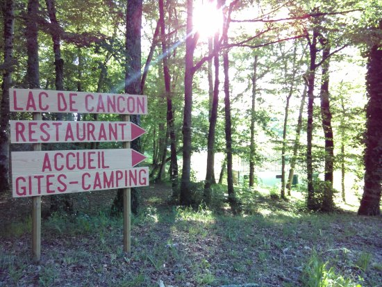 Cancon, France : Restaurant du Lac