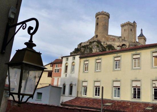 Vue Château de Foix