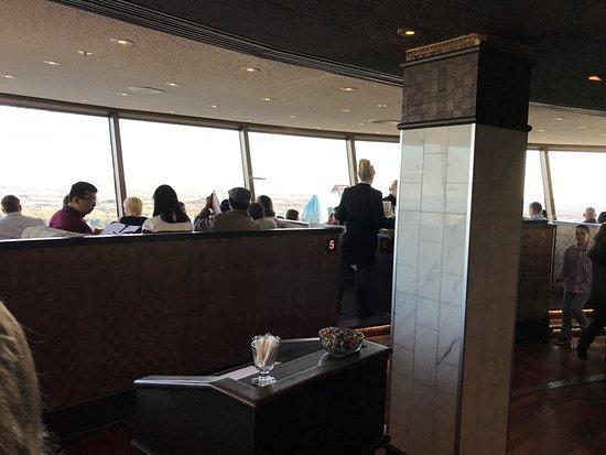 Skylon Tower Revolving Dining Room Restaurant  Niagara