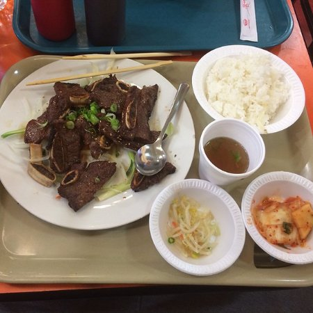 "‪‪Burlington‬, ماساتشوستس: Self service. The dish is called ""Kalbi""‬"
