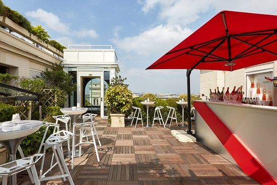 La terrasse hotel raphael paris champs lys es for Hotel paris telephone