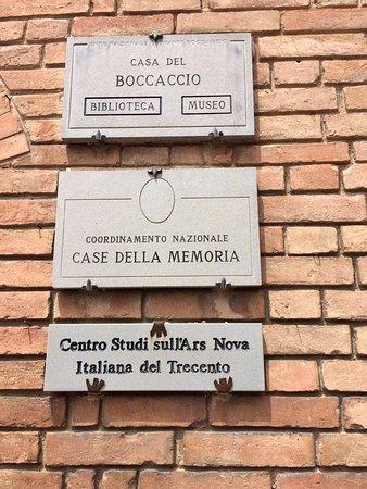 Certaldo, Ιταλία: Casa di Boccaccio