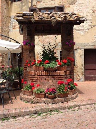 Certaldo, Italy: Pozzo
