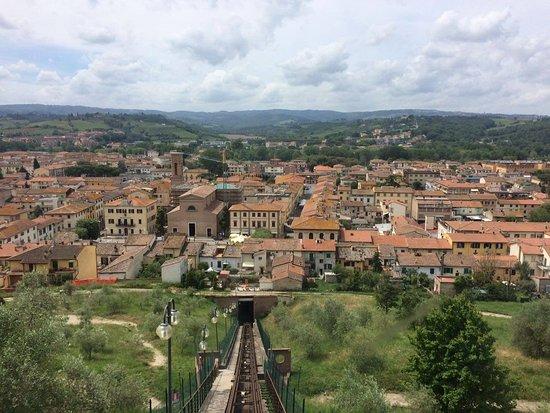 Certaldo, Italy: Veduta seggiovia dall'alto