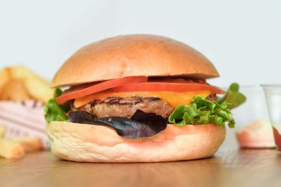 Fries with Benefits: Our tasty burger, freshly prepared on a daily basis