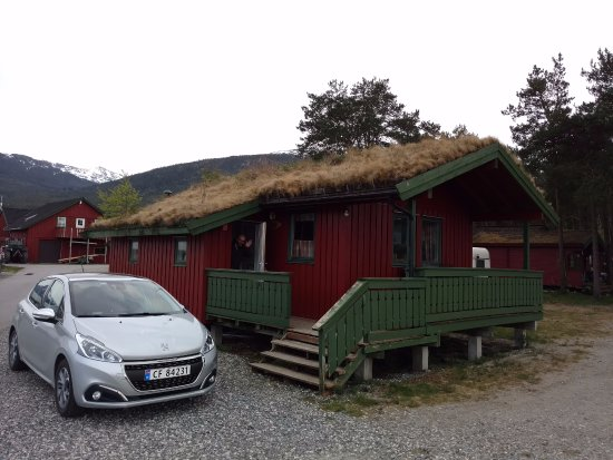 Sandane, Norwegia: Our cabin in may 2017