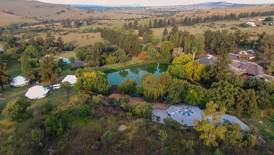 Centurion, South Africa: Aerial View of the resort