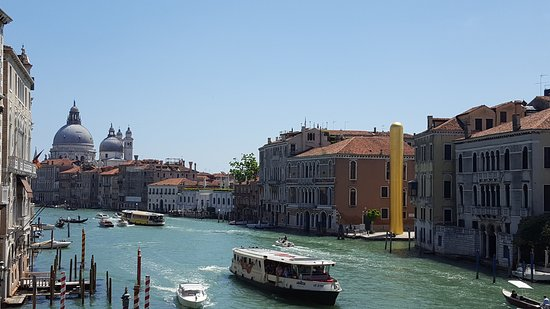 Ponte dell'Accademia: looking south