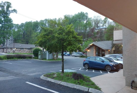 Johnson's Inn: Parking lot was't crowded