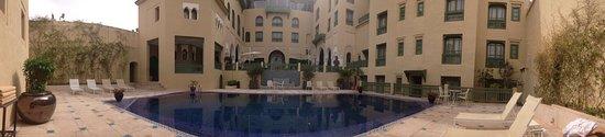 Le Spa du Palais Faraj : La spa è eccezionale. Abbiamo usufruito della formula a 450 dhiram. 45 euro circa per un hammam