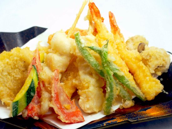 Rivonia, South Africa: Something crispy to start with !!!  ( Mix tempura)