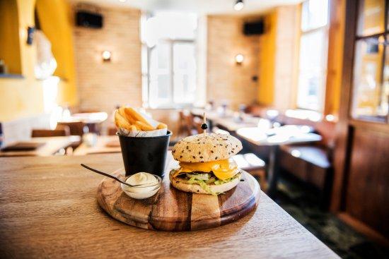 Eijsden, Niederlande: Hamburger