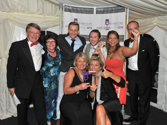 Shere, UK: Winners of Surrey Life Best Cafe of the Year Award October 2017