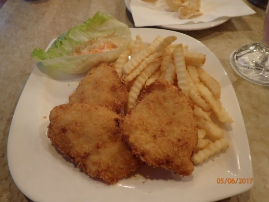 Goodway Hotel Batam: fish and chips