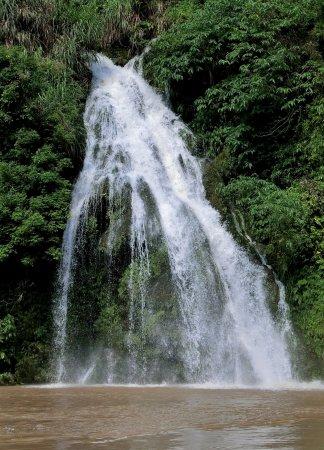 Lianzhou, China: Waterfall