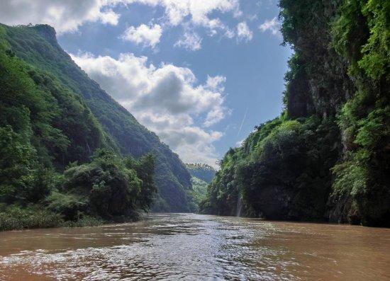 Lianzhou, Çin: Scenic boat ride