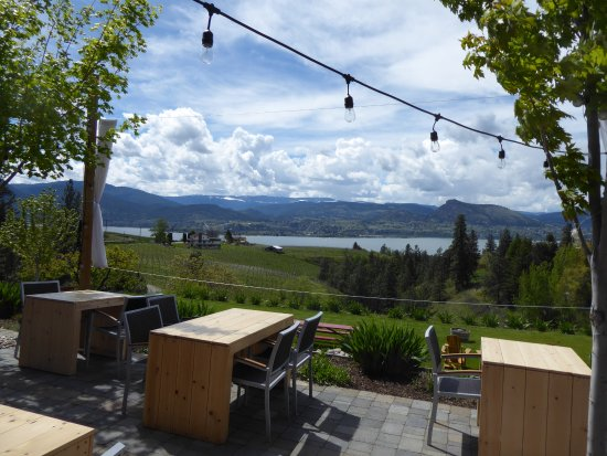 Naramata, Canada: view from the patio.