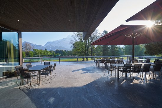 """Bad Ragaz, Schweiz: Die Terrasse des Restaurant """"gladys"""""""