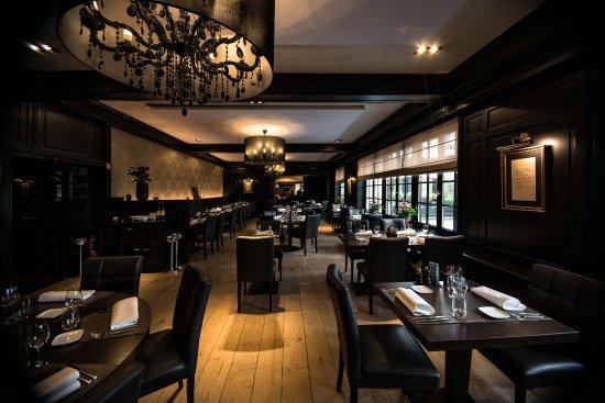 Groot-Bijgaarden, Belgium: Ons restaurant van achteraan bekeken