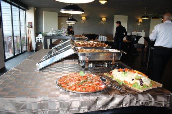 Geesteren, Holandia: buffet