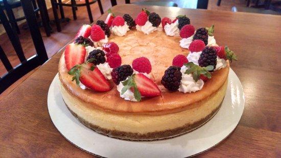 Aiken, Carolina del Sur: Vanilla Cheesecake