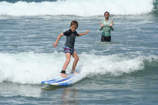 Umzumbe, Sydafrika: Learn to surf