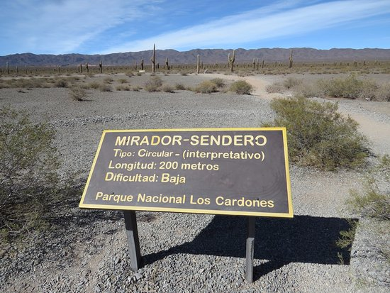 Parque Nacional Los Cardones: Senderos