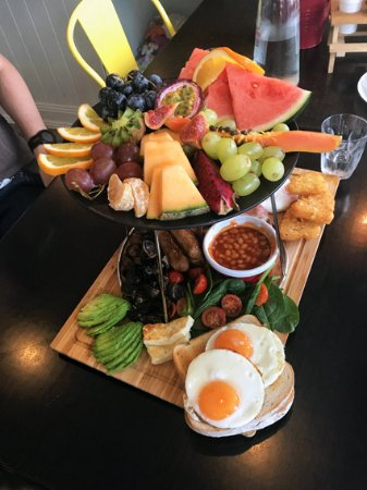 Cabramatta, Australia: Breakfast platter