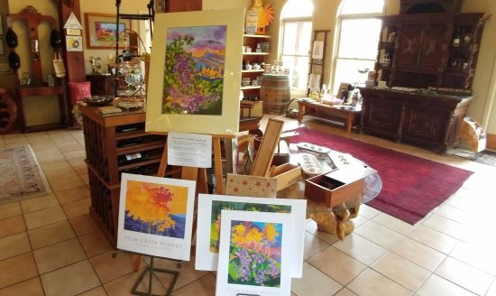 Palisade, CO: Art in the gift shop