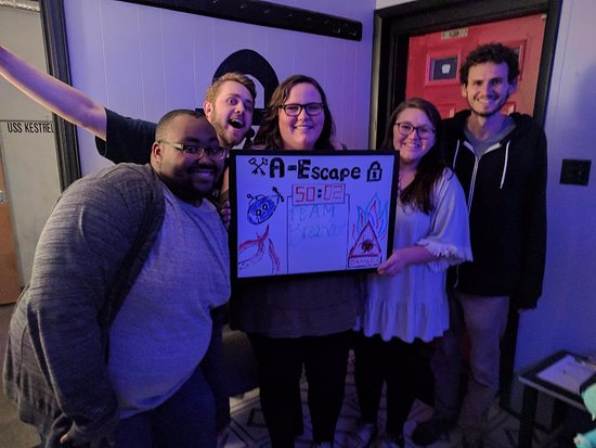 ‪A-Escape Asheville Escape Room‬