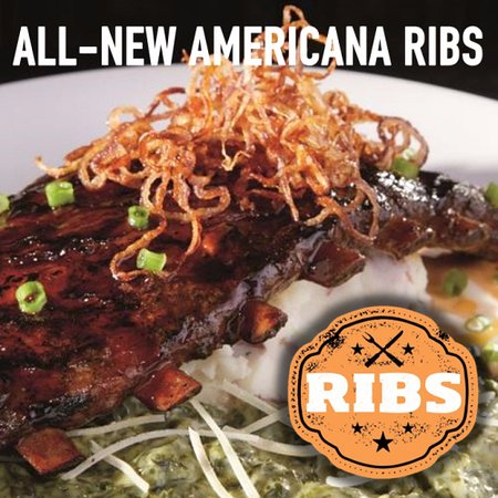 Dave & Buster's: AMERICANA RIBS
