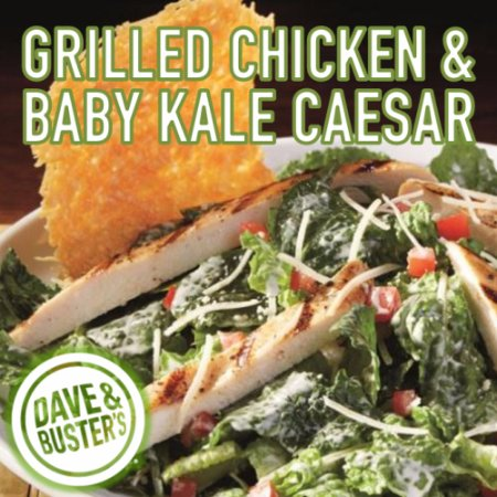 West Nyack, NY: GRILLED CHICKEN & BABY KALE CAESAR