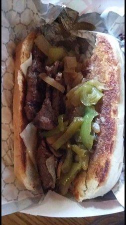 Seeley Lake, MT: Team Lindey's Steak Sandwich