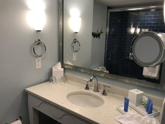 Nice Modern Bathroom But Small Shower Picture Of The