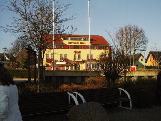 Hotel Deutsches Haus Ostseebad Wustrow Restaurant