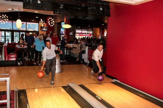 Foxboro, MA: Bowl a game or two on one of our luxury lanes