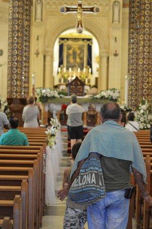Bugibba, Malta: Ta' Pinu church in Gozo