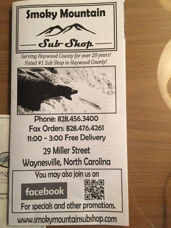 Smoky Mountain Sub Shop: photo0.jpg
