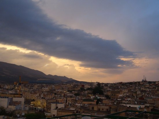 Riad El Bacha : Sunset (photo taken from the terrace)