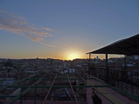 Riad El Bacha : Sunrise (photo taken from the terrace)