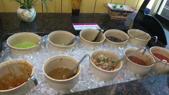 Simpsonville, SC: Excelente lugar lo que a mi opinión se acerca a la comida Mexicana con el toque culinario y sazó