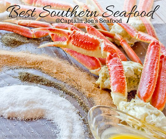 Midway, GA: Best Southern Seafood, Snow Crab legs with the Captains own special seasoning.
