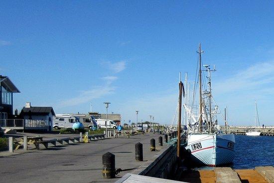 Loegstoer, Denmark: Havnekajen