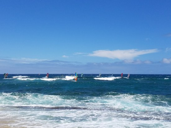 Paia, HI: World Class Wind Surfing