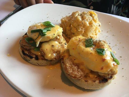 Brooksville, Floryda: Bang Bang Shrimp Eggs Benedict