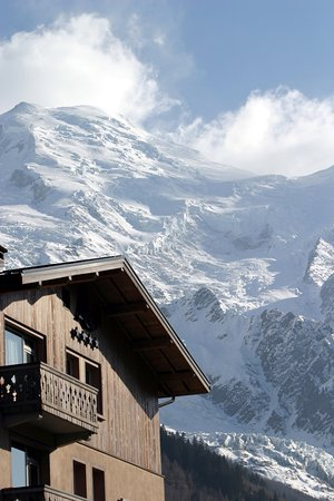 Le hameau albert 1 chamonix webcam