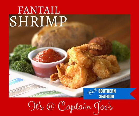 Jesup, Georgien: Fantail Shrimp Dinner