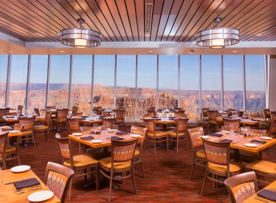 Peach Springs, AZ: Dining at the edge of the Grand Canyon