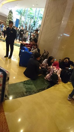 People Sleeping On The Floor Picture Of Sheraton Grand