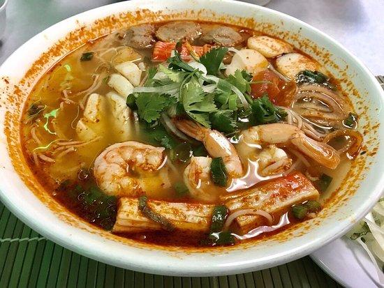 Milpitas, CA: #76 Hot & Sour Seafood Noodle Soup